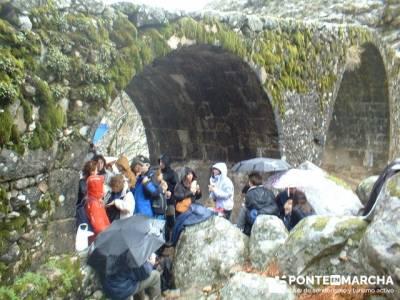 Puente Nuevo - Valle Jerte - Carlos V; grupos de senderismo